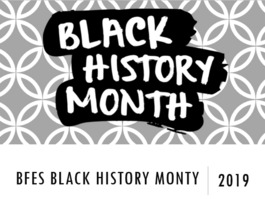 BFES Black History Month Celebrations-2019