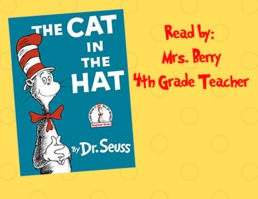 Read Across America Week 2019- Cat in the Hat