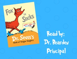 Read Across America Week 2019- Fox in Socks