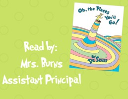 Read Across America Week 2019- Oh the Places You'll Go